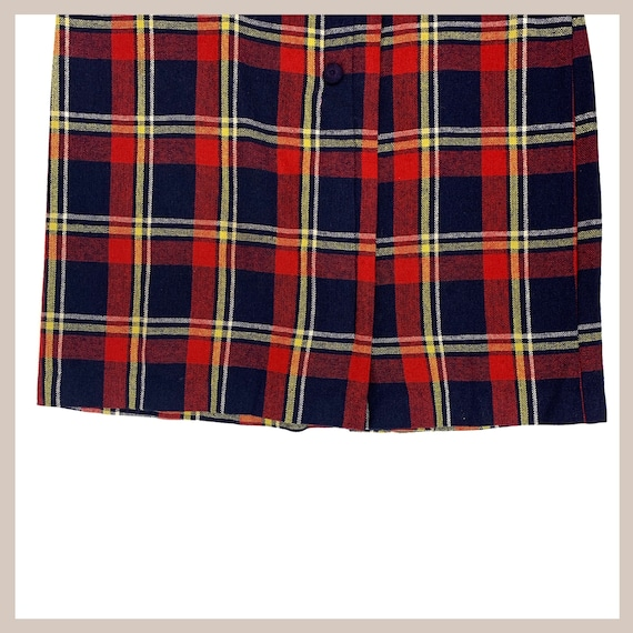 50's Plaid Skirt - image 4