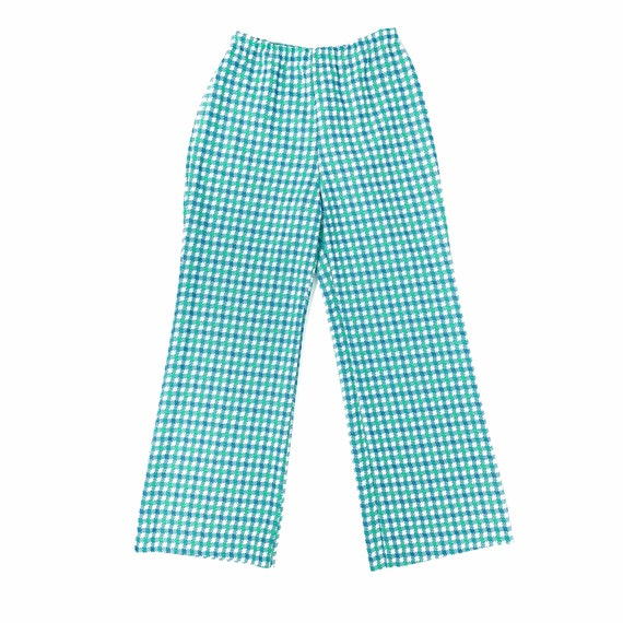 60's/70's Checked Bell Bottoms