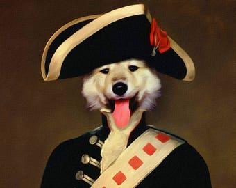 Custom dog portrait, custom portrait, custom pet portrait, dog portrait, pet portrait, pet painting, pet drawing, pet memorial