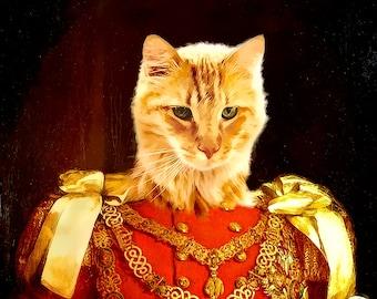 cat portrait, cat loss, personalized gift, personalized cat, cat gift, cat memorial, cat lover gift, cat memorial, cat portrait, custom cat