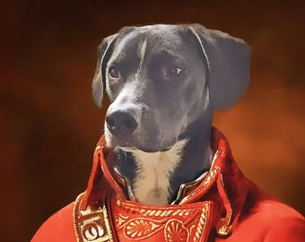 pet portrait custom, pet painting, custom portrait, custom dog painting, pet portrait, pet memorial, custom pet portrait