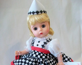 """Madame Alexander CARHOP TAKES Your ORDER 8"""" Doll with Box and Tag - Rare, Retired Roller Skate Diner Doll"""