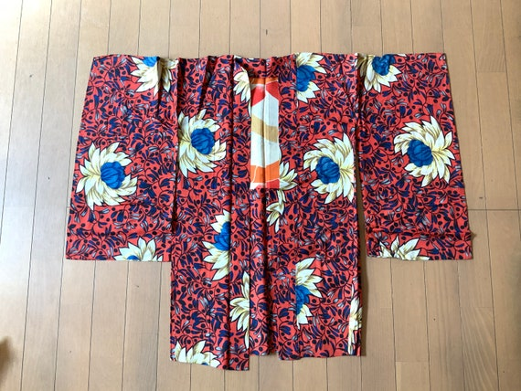 Silk Kimono, Vintage Kimono, Women's Kimono