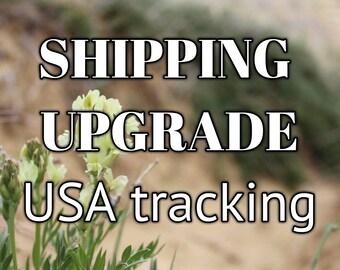 SHIPPING UPGRADE - USA Tracking