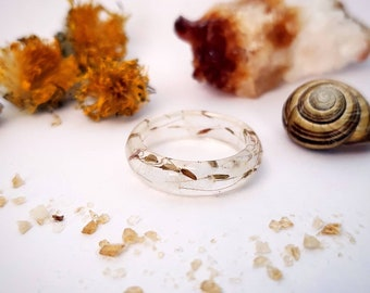 Dandelion Ring - Wishing Seeds, Rocky Mountain, Forest, Terrarium, Botanical Jewellery, Floral, Woodland, Make a Wish, Keep Dreams Alive