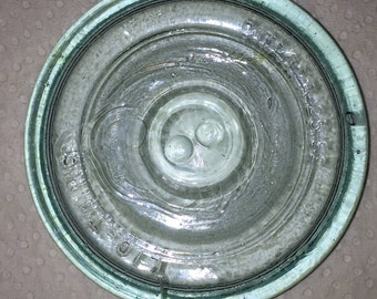 Putnam Lightning Glass Canning Jar Lid