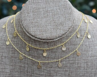 Double Drops of Jupiter Necklace