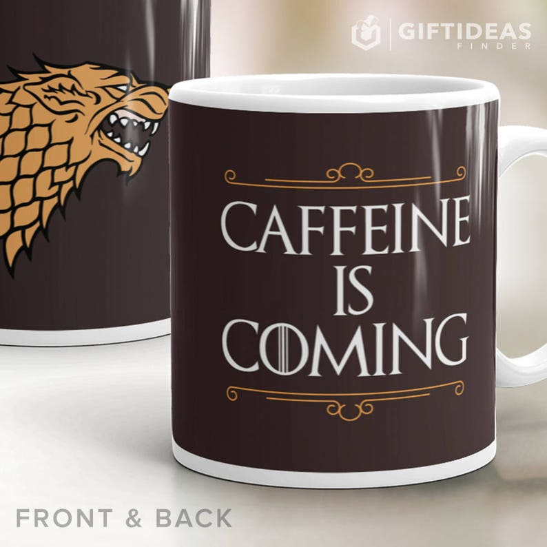 Game of Thrones Mug Caffeine Is Coming. Game of Thrones image 0