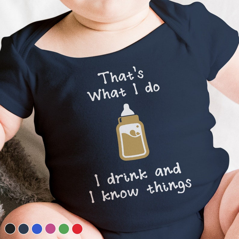 Game of Thrones Baby Bodysuit. Baby Shower Gift Funny Baby Navy Blue