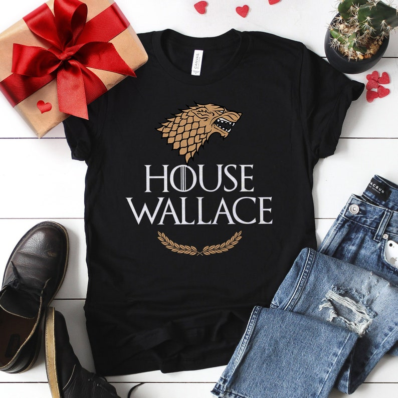 Game of Thrones Shirt House Name. Game of Thrones Christmas Black