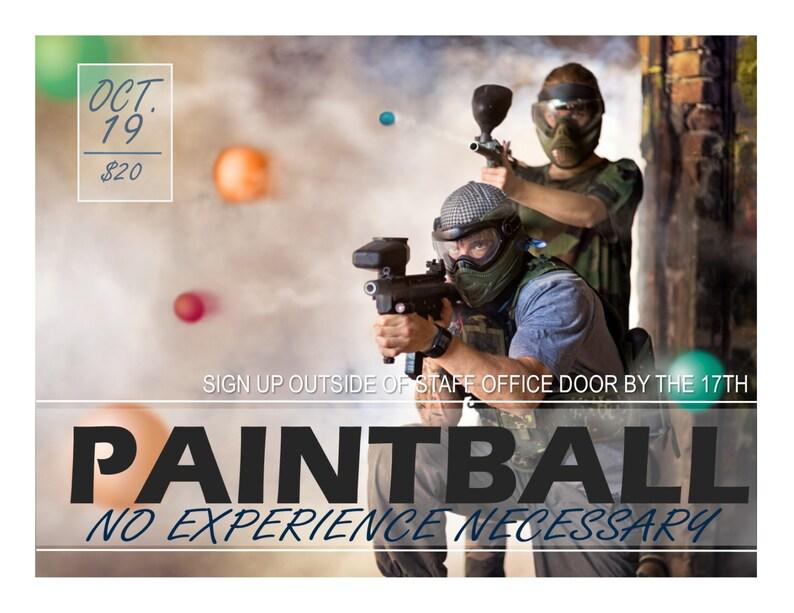 Paintball programa publicidad texto totalmente Editable  a3c4149a9b3