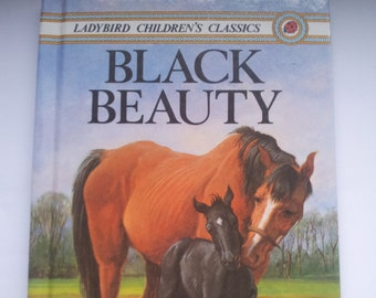 Ladybird Black Beauty Anna Sewell Children's Classics Vintage book 1980s