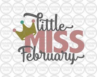 Little Miss February Etsy