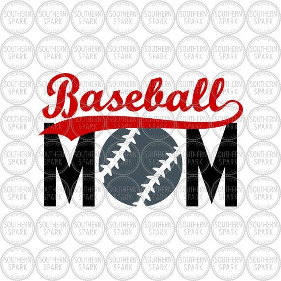 Baseball Mom Svg Png Eps Pdf Jpg Dxf Etsy