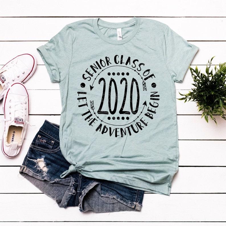 Senior 2020 / Senior Class Of 2020 Let The Adventure Begin