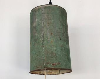 Distressed Metal Light Fixture