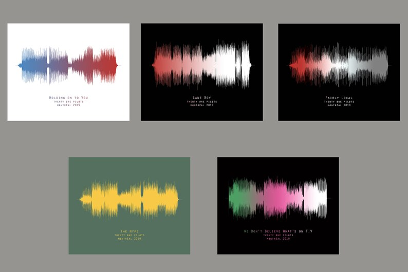 Sound Waves,Custom sound wave print, Printable files, Custom art, Sound  Wave Art, Sound Decor,Instant download, Printables, Custom Print