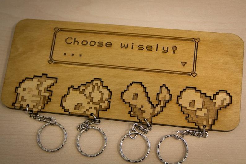 faa9ef07 Pokemon Inspired Choose Wisely Lasercut &   Etsy