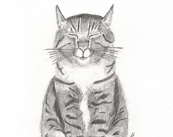 Pencil Pet Portrait - MADE TO ORDER