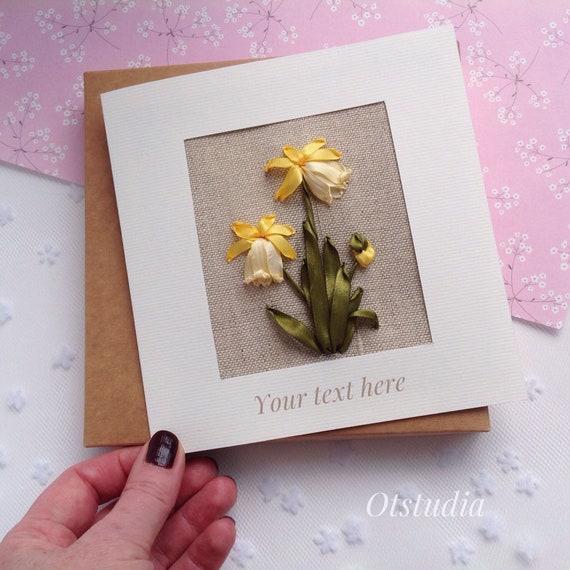 4th Anniversary Card For Man Linen Wedding Anniversary Gift Etsy