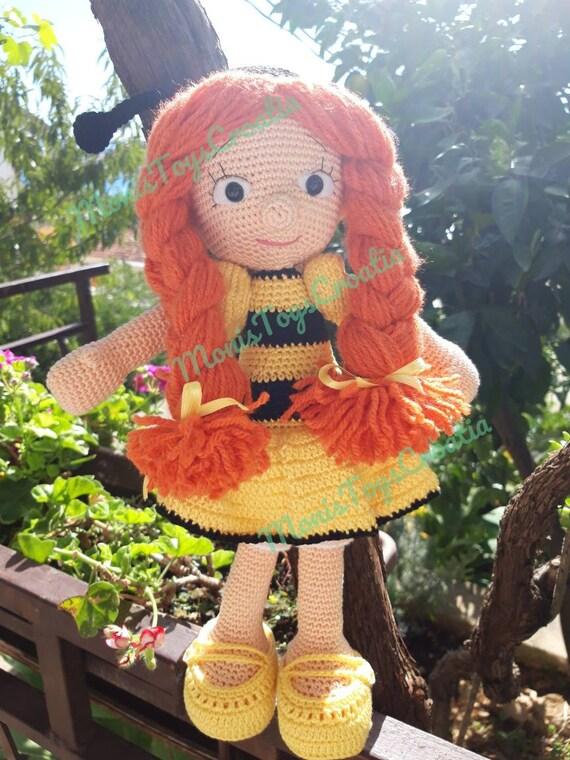 Ravelry: Bee Girl Amigurumi pattern by Serah Basnet   760x570