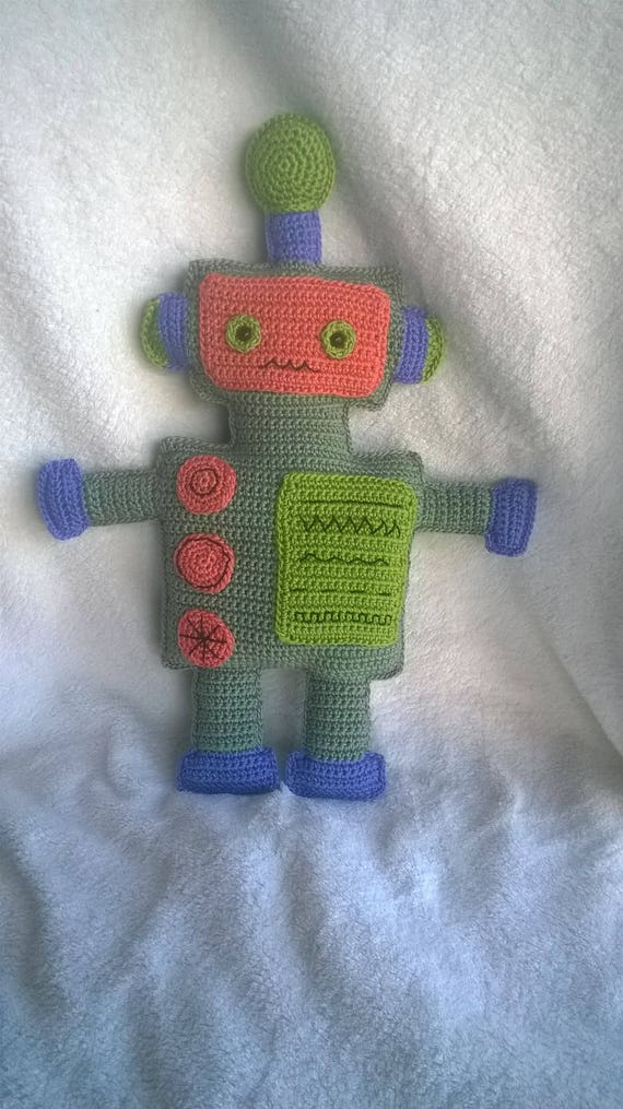 Amigurumi Robot Crochet Pattern | Supergurumi | 1015x570