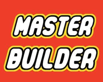 Lego Printable < Master Builder < Lego Movie < Lego Birthday < Boy Wall Art < Lego Bedroom < Boy Room Decor < Lego File