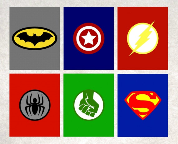 picture relating to Printable Superhero Logos named Superhero Printables \u003c Superhero Trademarks \u003c Superhero Wall Artwork \u003c Batman \u003c Spiderman \u003c The Hulk \u003c Superman \u003c Captain The us \u003c Preset of 6