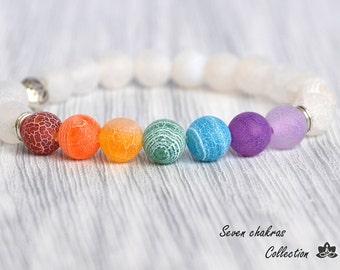 Gemstone Jewelry Chakra Bracelet Mala Beads Womens bracelets Prayer Beads Yoga Jewelry Energy Bracelet Chakra Jewelry Yoga Bracelets