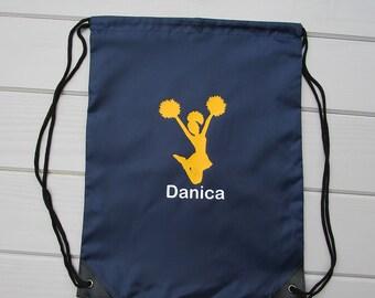 a0cb57cff3 Cheerleading Drawstring Bags   Personalized Cheerleading Drawstring Bags    Monogrammed Cheerleading Drawstring Bags   Cheerleading Gifts
