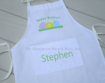 Personalized Children's Apron / Personalized Aprons for Kids / Monogrammed Apron / Personalized Aprons / Children's Gifts / Holiday Gifts