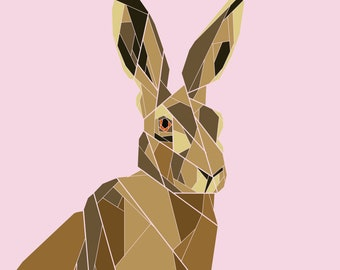 Hare Foundation Paper Pieced Pattern