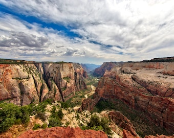 A Valley View - Observation Point - Zion National Park