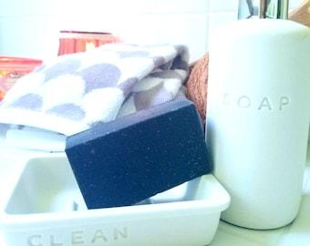 Black Charcoal Tea Tree Love Soap Bar