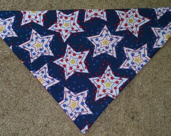 2 Patterns Patriotic Bandanas