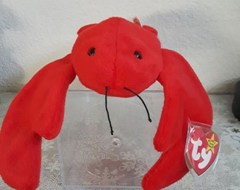 0bb43206f07 Vintage Ty Beanie Babies Pinchers the Lobster 1993