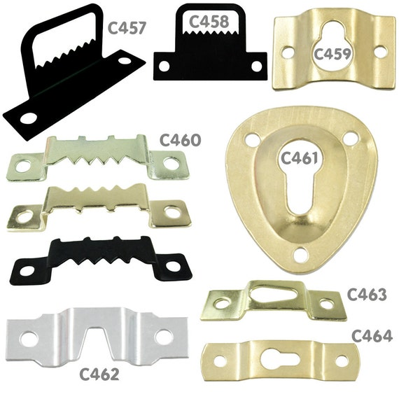 19mm Picture Turns Nickel Plated Framing Clips Strong 20 50 or 100