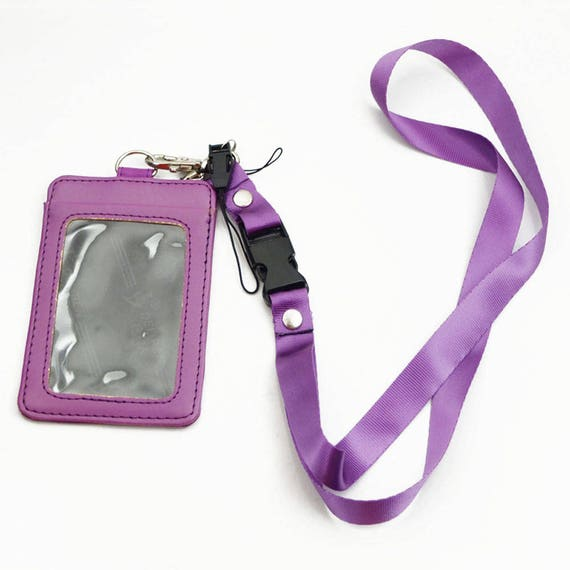 ID Name Card Holder Case Badge Lanyard Neck Strap Necklace Strap YL