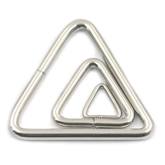 ,3//4/'/'-1/'/' 20 19mm-25mm Triangle rings for webbing strapping-Welded