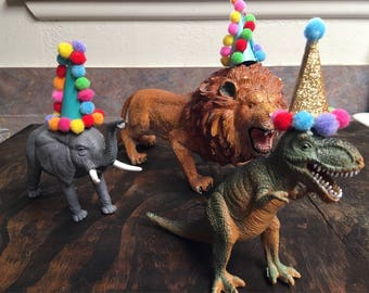 Mini party hats for animals