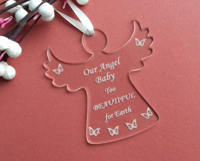 ANGEL BABY MEMORIAL Baby Loss Gift Stillbirth Miscarriage image 0