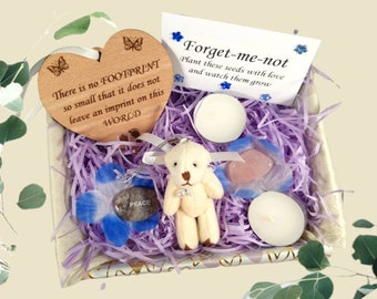 Miscarriage Sympathy Gift Box, Care Package, Thinking of You, Baby Loss, Sorry For Your Loss, Baby Remembrance, Bereavement Gift, Bear Hug