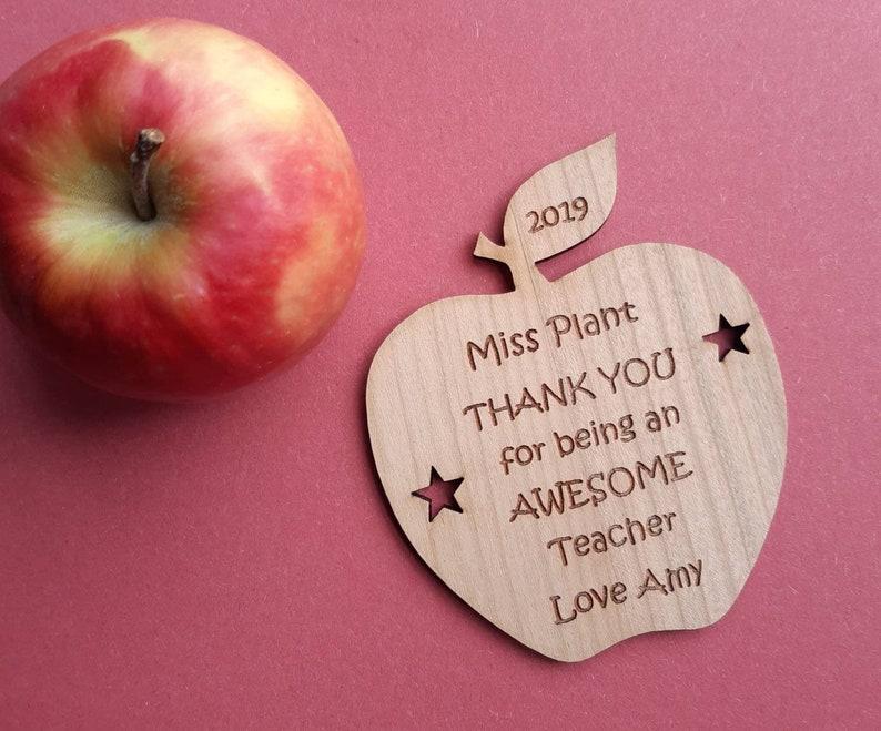 Personalised TEACHER Christmas Gift AWESOME Teacher Fridge image 0