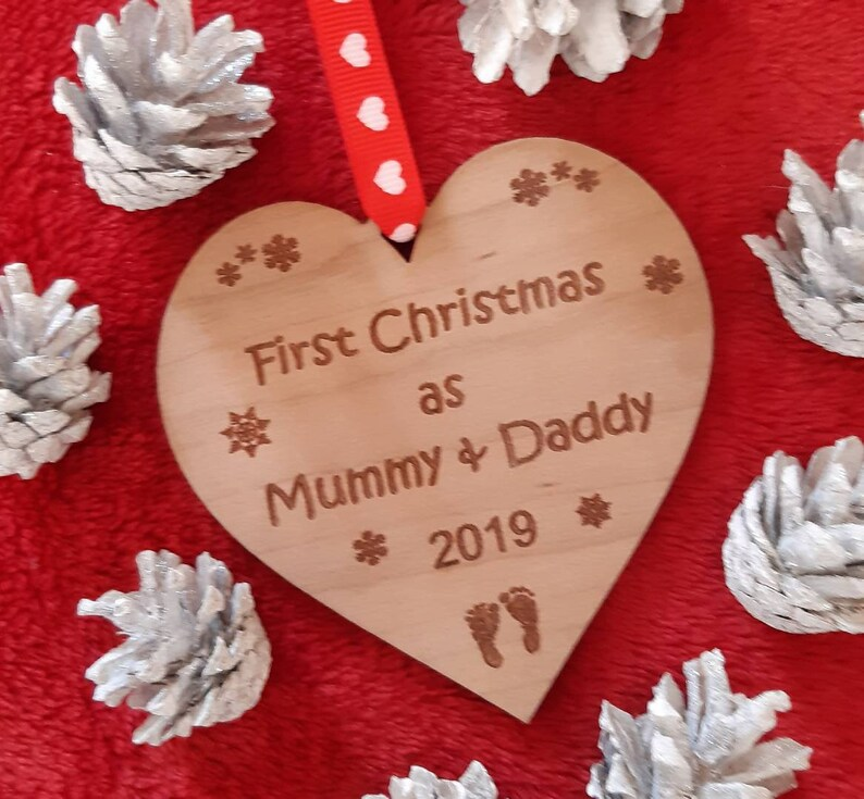 First Christmas as Mummy and Daddy Mummy and Daddy to be image 0