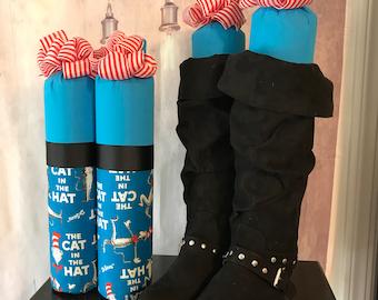 Frozen Boot Trees - Cat in the Hat - Minnie - Disney Princess - Winnie the Pooh - Closet Organizer - Handmade - Customizable - Boot Buddies!