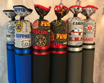First Responders Boot Trees - Police - Fire - EMS - Boot Freshener - Handmade - Customizable - Unique Gift - Boot Stands -  Boot Buddies!