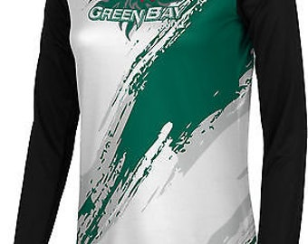 Women's University of Wisconsin Green Bay Scratch Long Sleeve (UWGB)