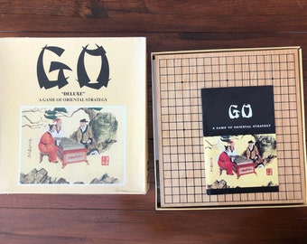 Chinese Game of Go - Game of Oriental Strategy - Vintage Board Game