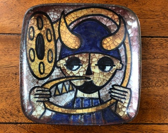 Danish Ceramic Dish Marianne Starck Michael Andersen & Son - Bornholmsk Keramik - Persia Glaze