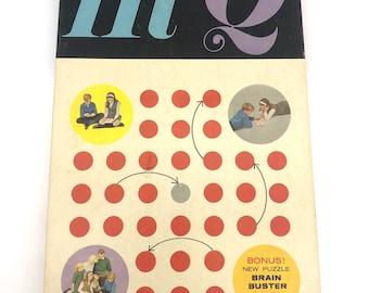 Hi-Q Brainbuster Vintage Games by Kohner 1960s